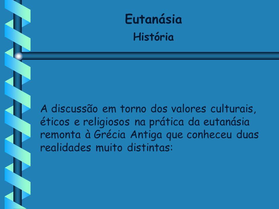Eutanásia História.