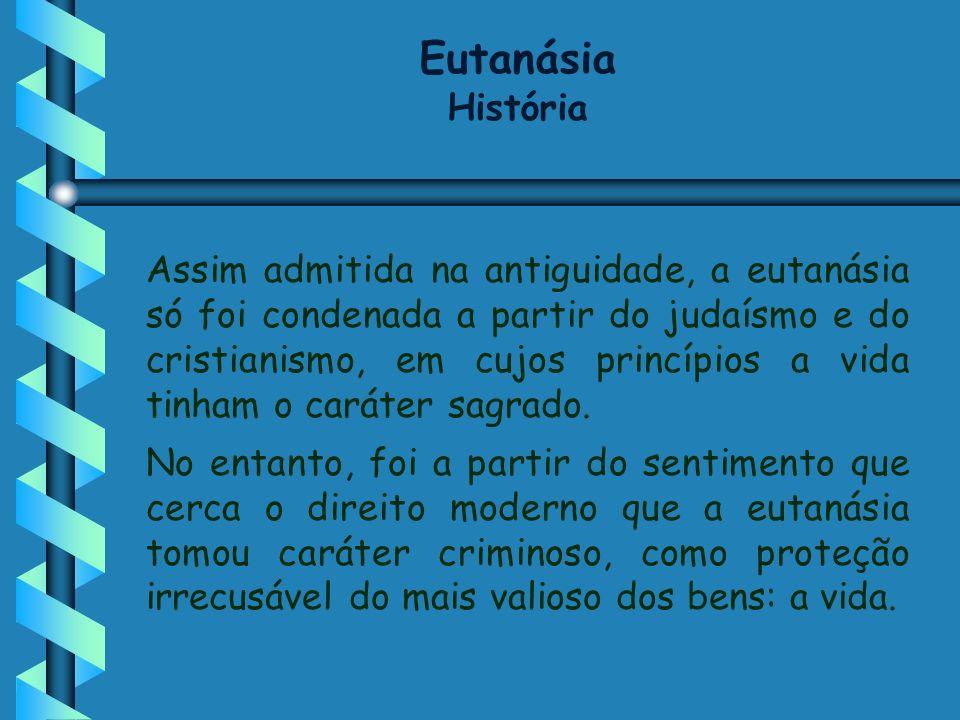 Eutanásia História