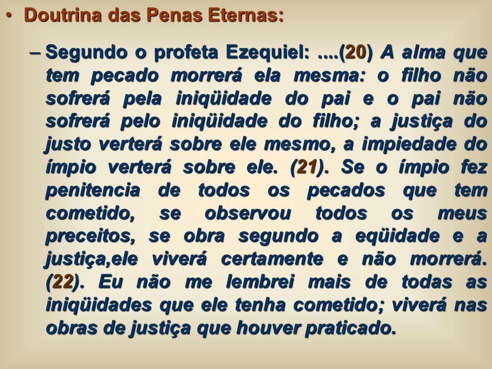 Doutrina das Penas Eternas: