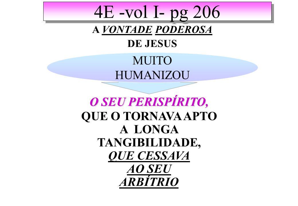 4E -vol I- pg 206 MUITO HUMANIZOU O SEU PERISPÍRITO,