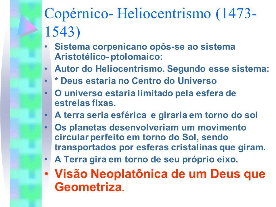 Copérnico- Heliocentrismo (1473-1543)