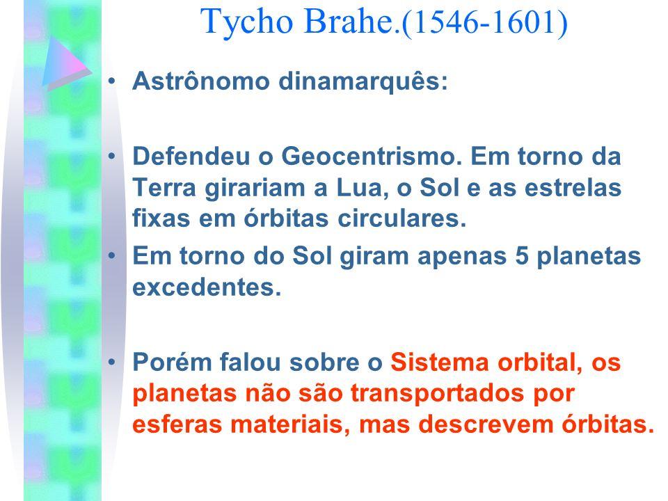Tycho Brahe.(1546-1601) Astrônomo dinamarquês: