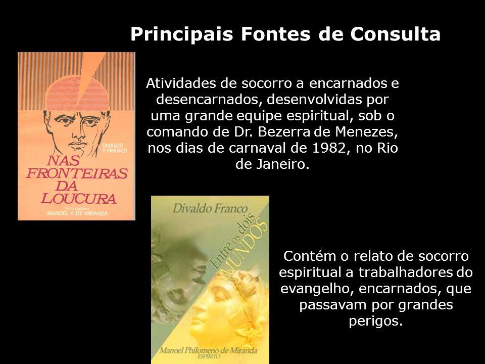 Principais Fontes de Consulta