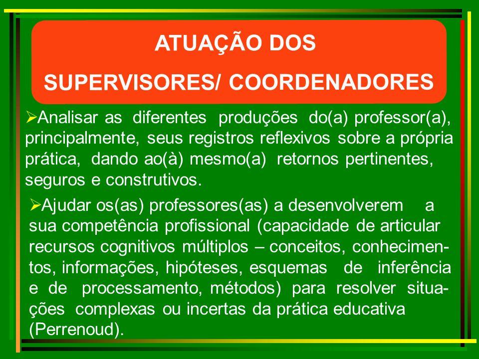 SUPERVISORES/ COORDENADORES