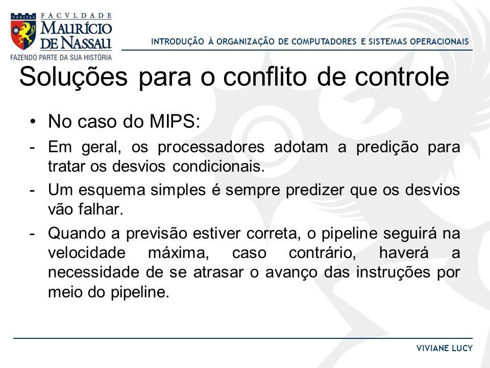 Soluções para o conflito de controle