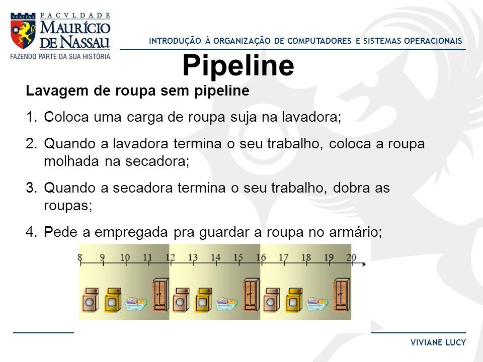 Pipeline Lavagem de roupa sem pipeline