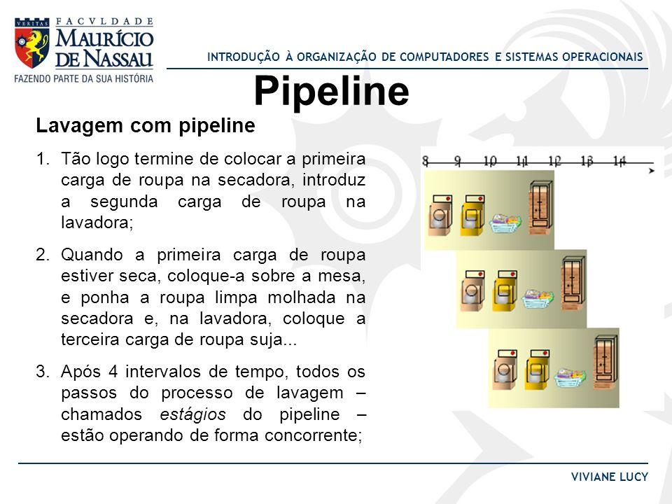 Pipeline Lavagem com pipeline