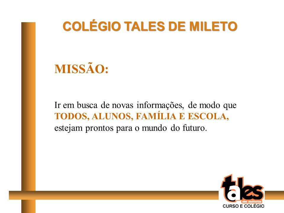COLÉGIO TALES DE MILETO