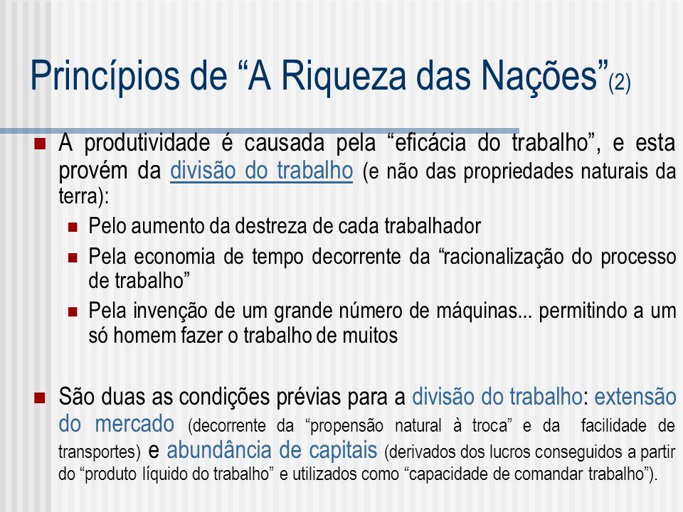 Princípios de A Riqueza das Nações (2)
