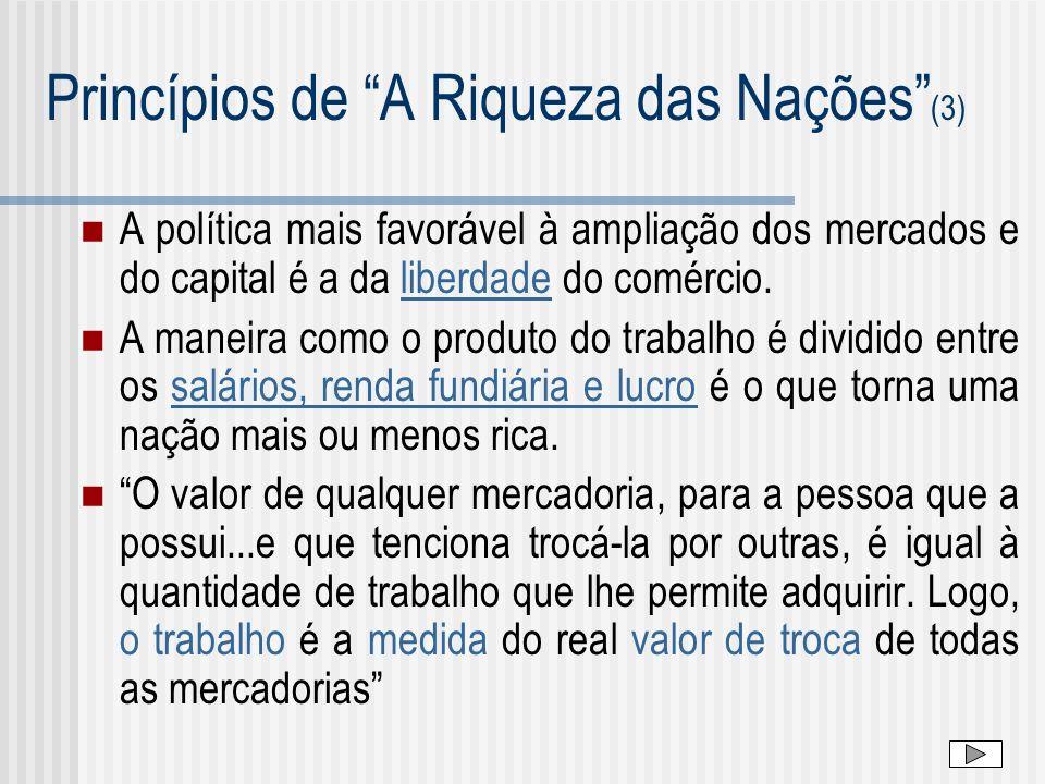 Princípios de A Riqueza das Nações (3)