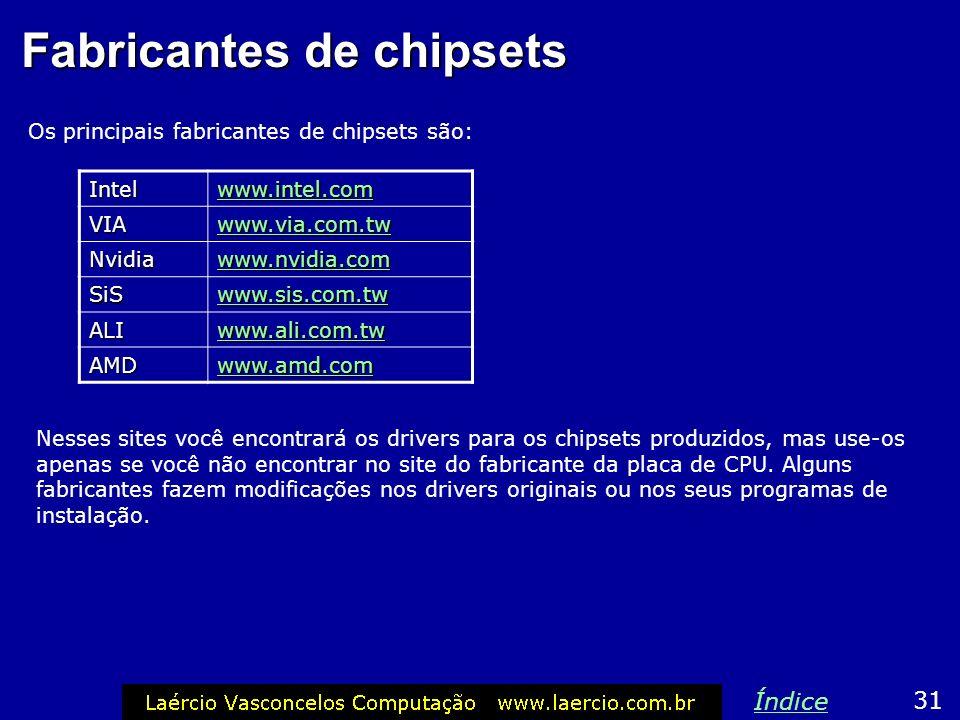 Fabricantes de chipsets