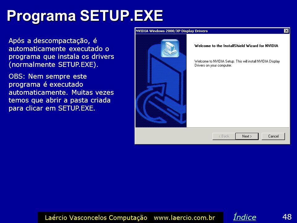 Programa SETUP.EXE Índice 48
