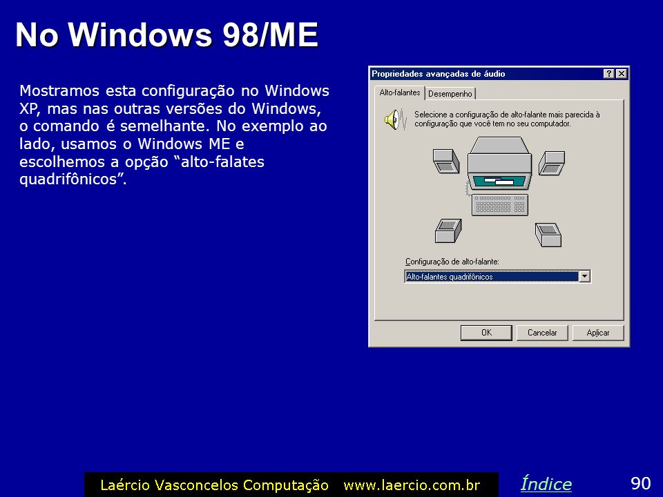 No Windows 98/ME