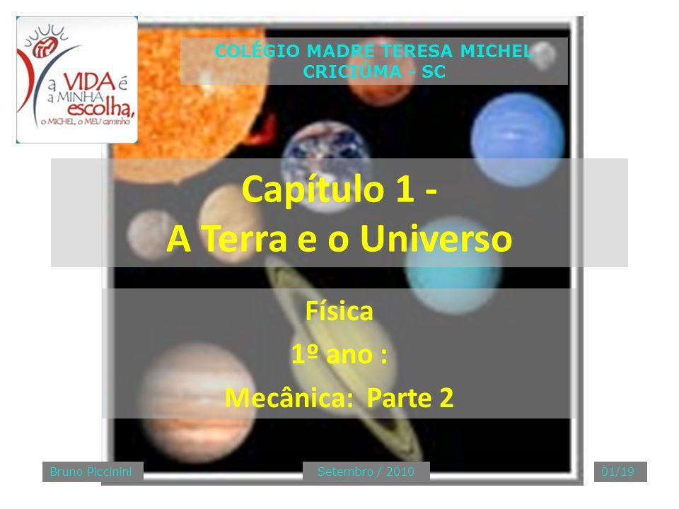 Capítulo 1 - A Terra e o Universo