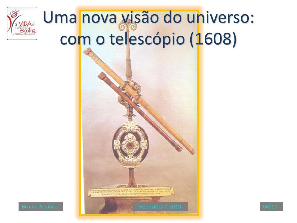Uma nova visão do universo: com o telescópio (1608)