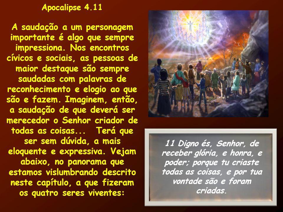 Apocalipse 4.11