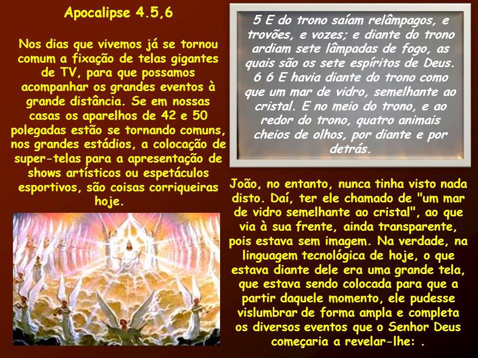 Apocalipse 4.5,6