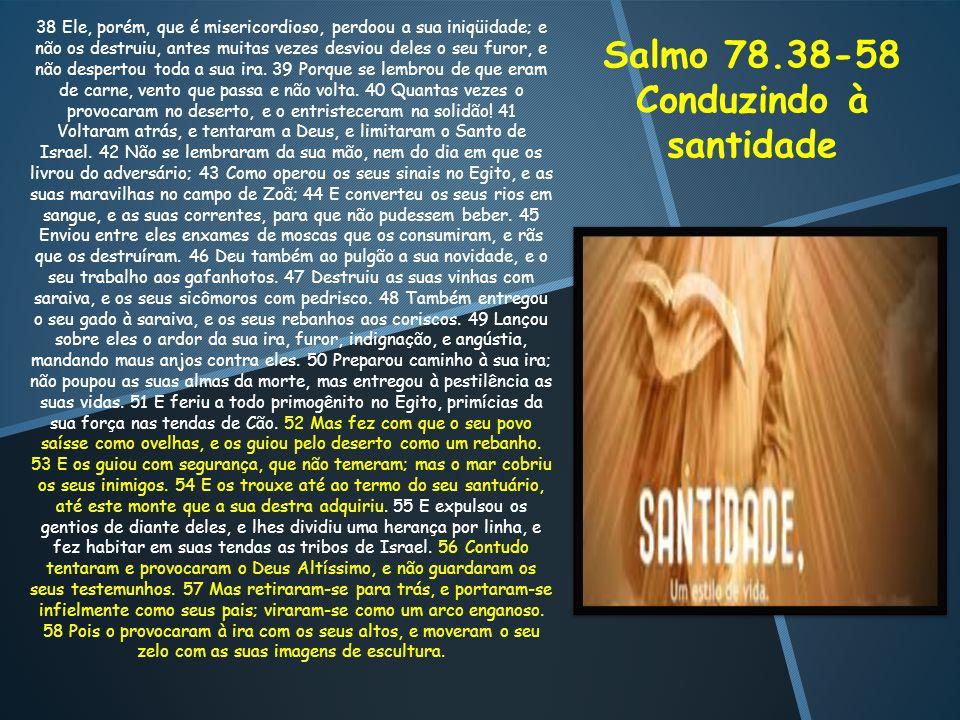 Conduzindo à santidade