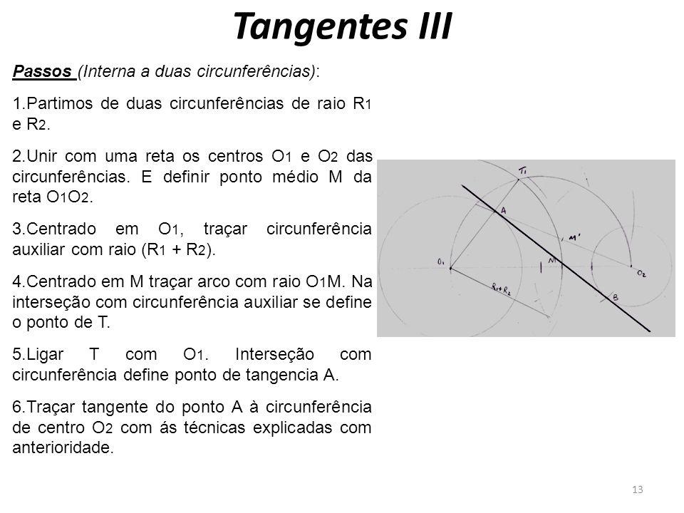 Tangentes III Passos (Interna a duas circunferências):