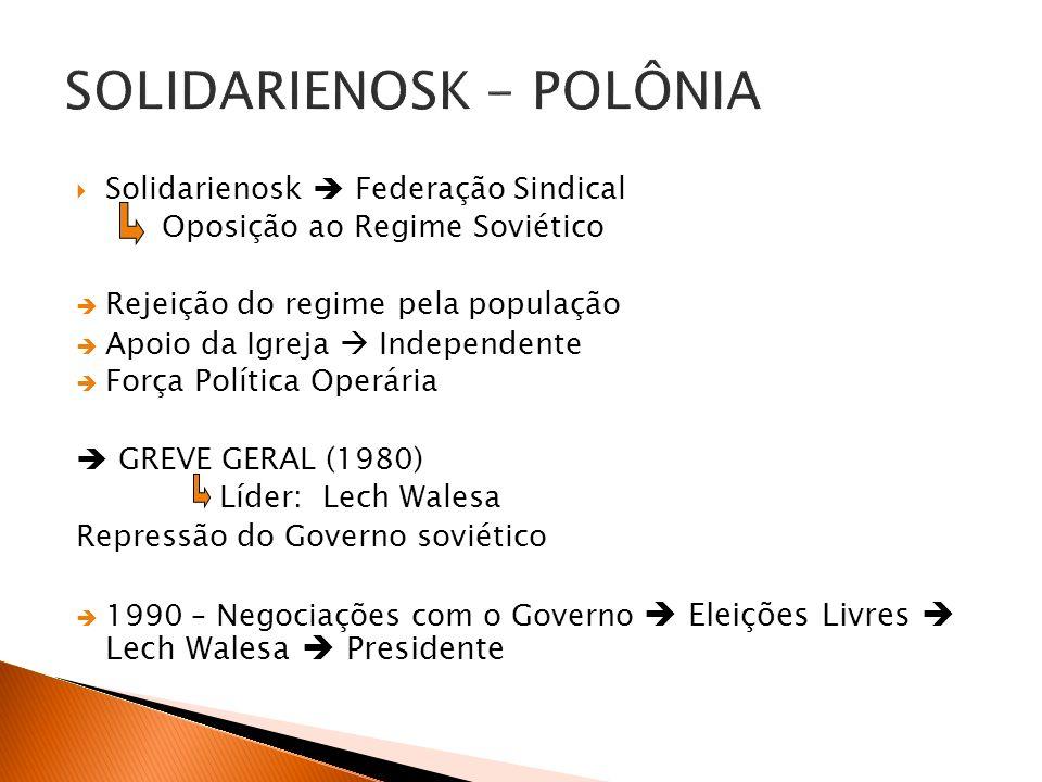 SOLIDARIENOSK - POLÔNIA
