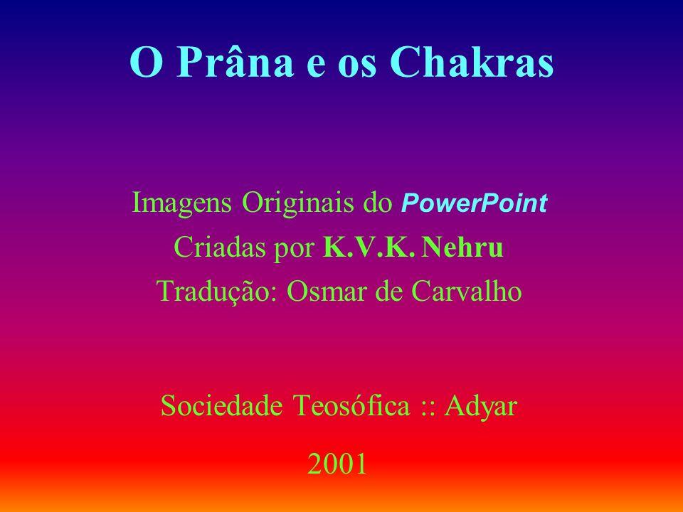 O Prâna e os Chakras Imagens Originais do PowerPoint