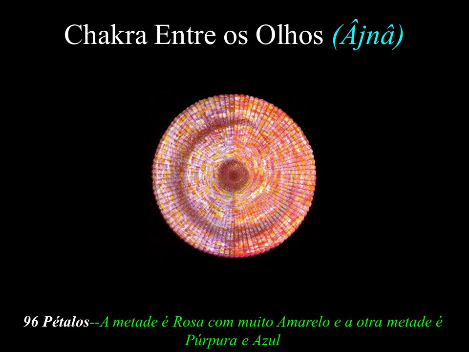 Chakra Entre os Olhos (Âjnâ)