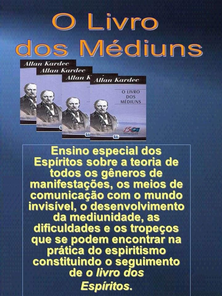 O Livrodos Médiuns.
