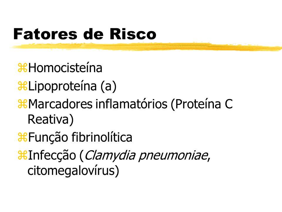 Fatores de Risco Homocisteína Lipoproteína (a)