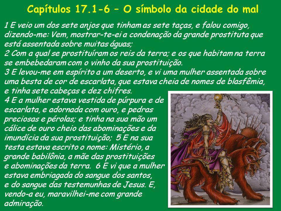 Capítulos 17.1-6 – O símbolo da cidade do mal