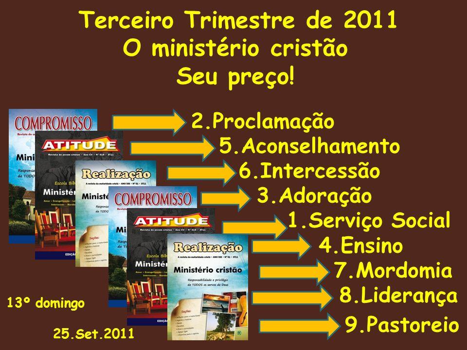 O ministério cristão Seu preço!