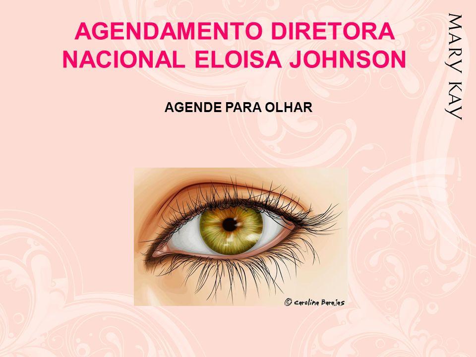 AGENDAMENTO DIRETORA NACIONAL ELOISA JOHNSON