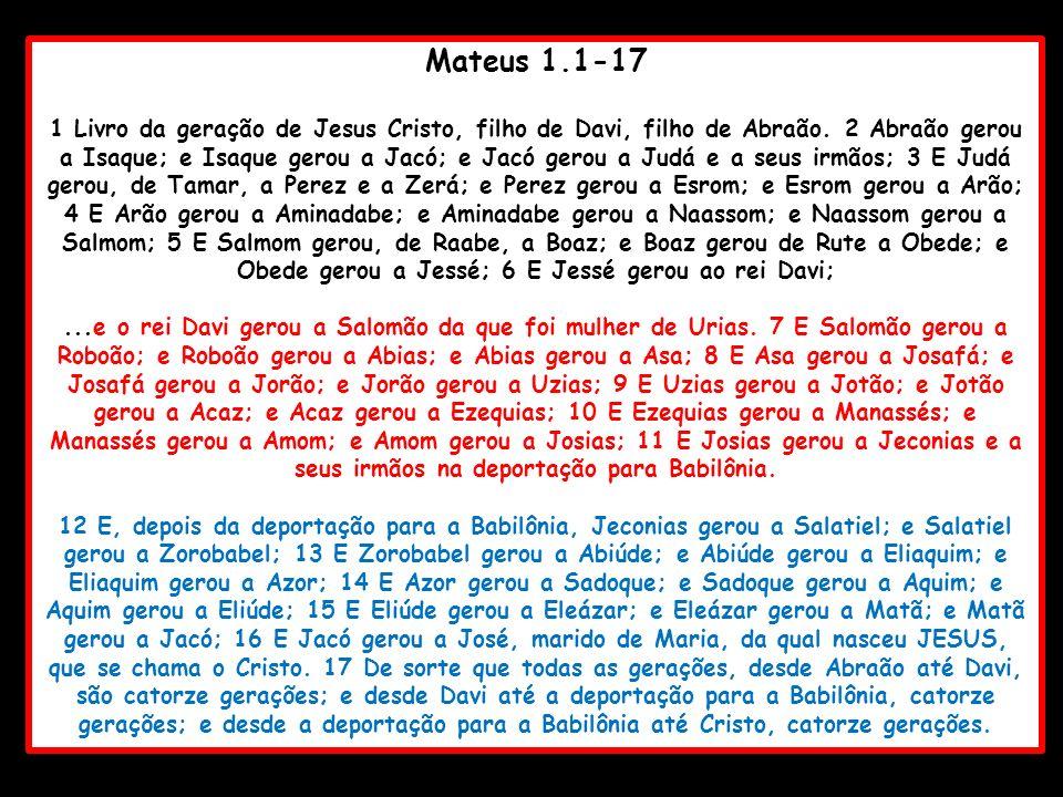 Mateus 1.1-17
