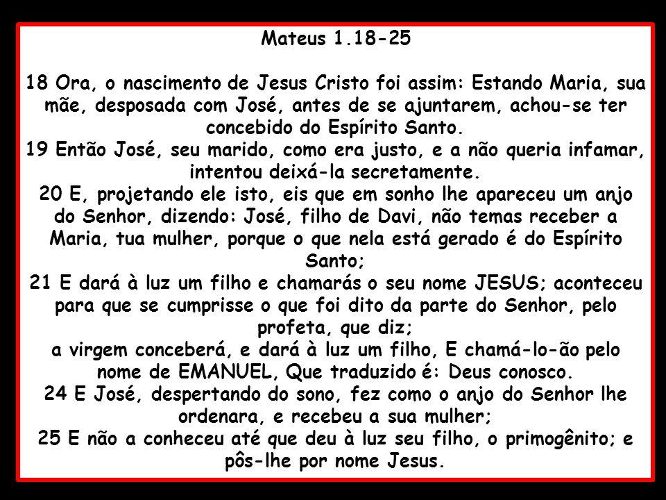 Mateus 1.18-25