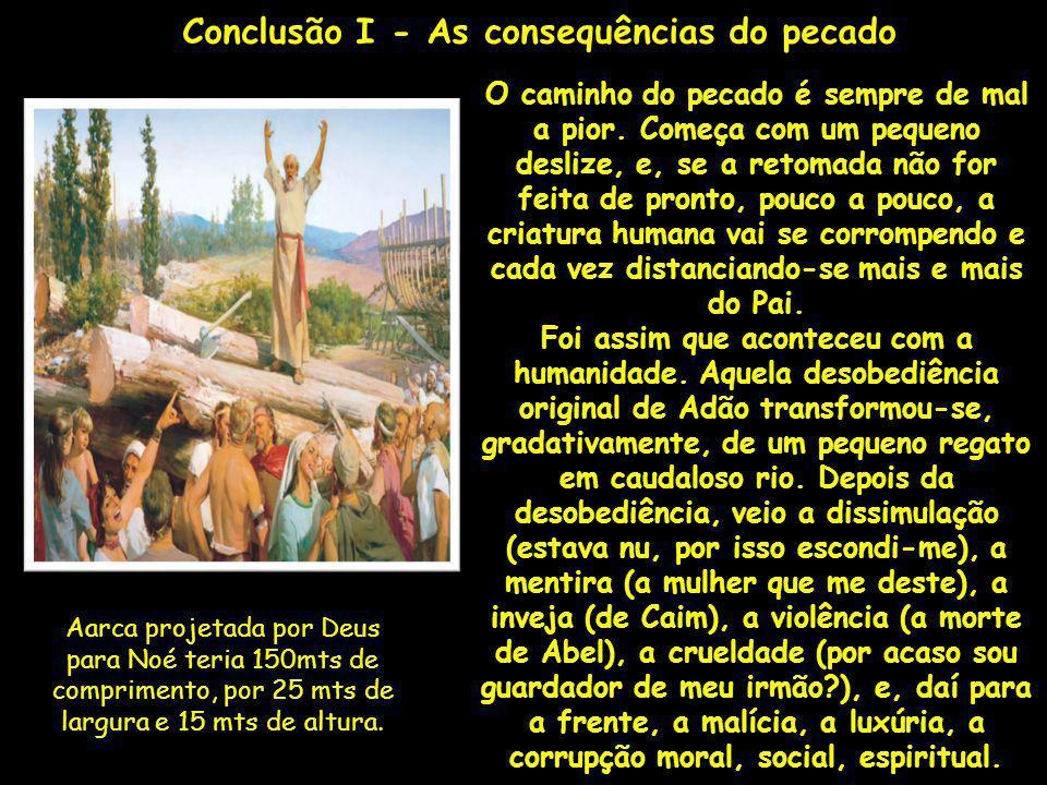 Conclusão I - As consequências do pecado