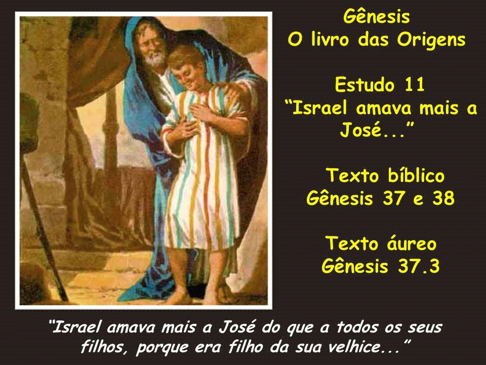 Israel amava mais a José...