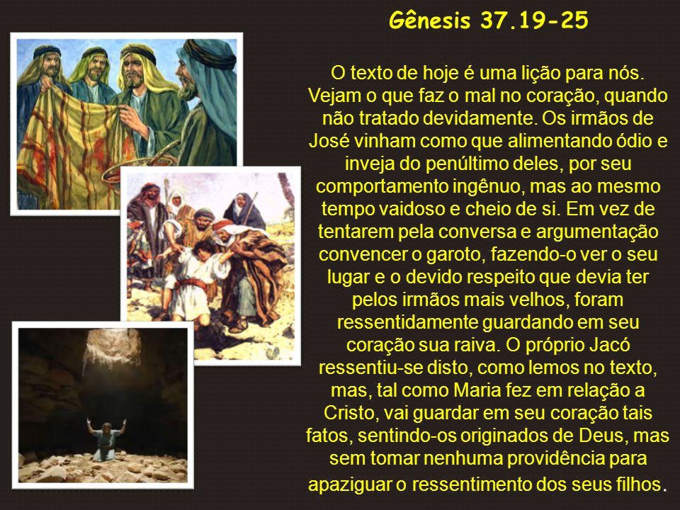 Gênesis 37.19-25