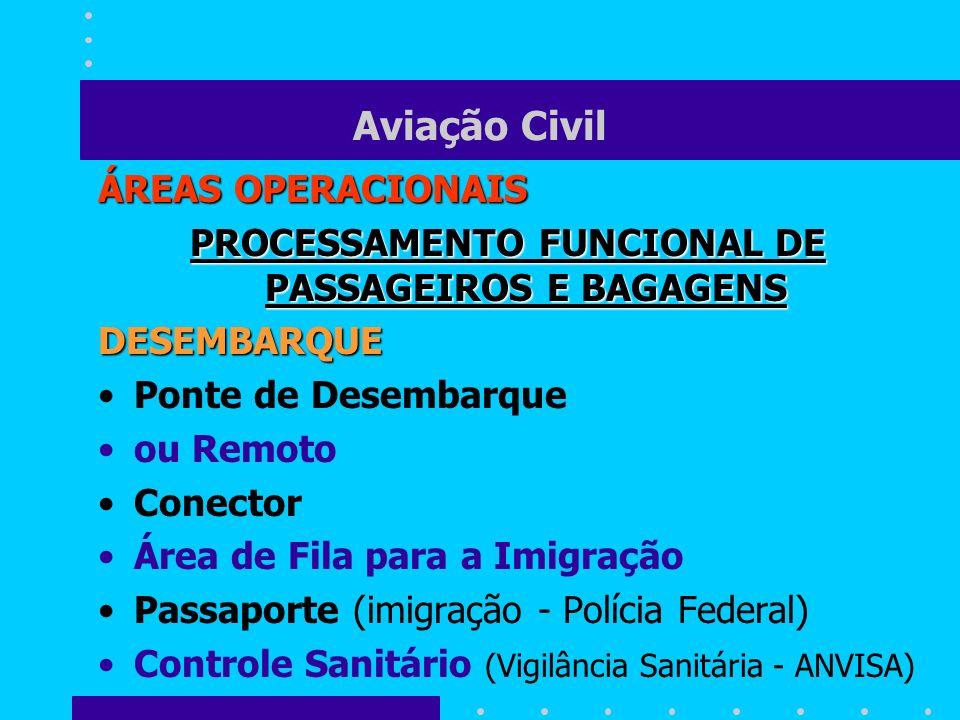 PROCESSAMENTO FUNCIONAL DE PASSAGEIROS E BAGAGENS