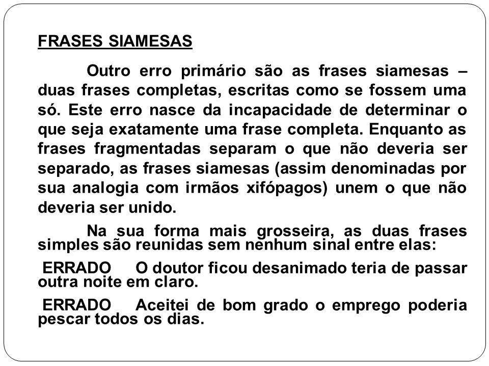 FRASES SIAMESAS