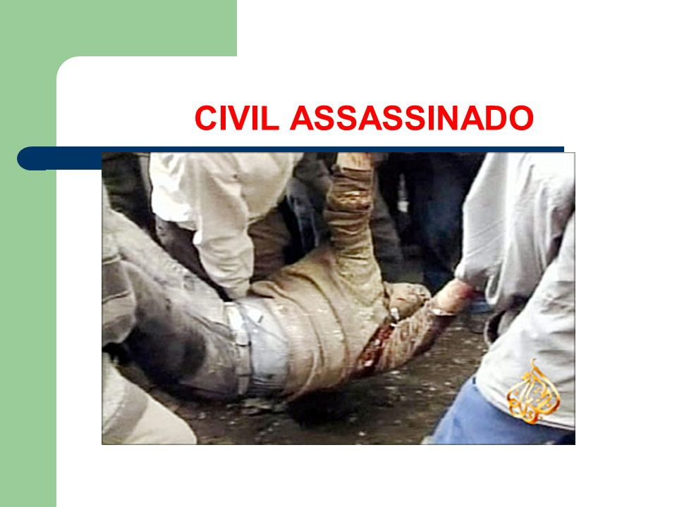 CIVIL ASSASSINADO