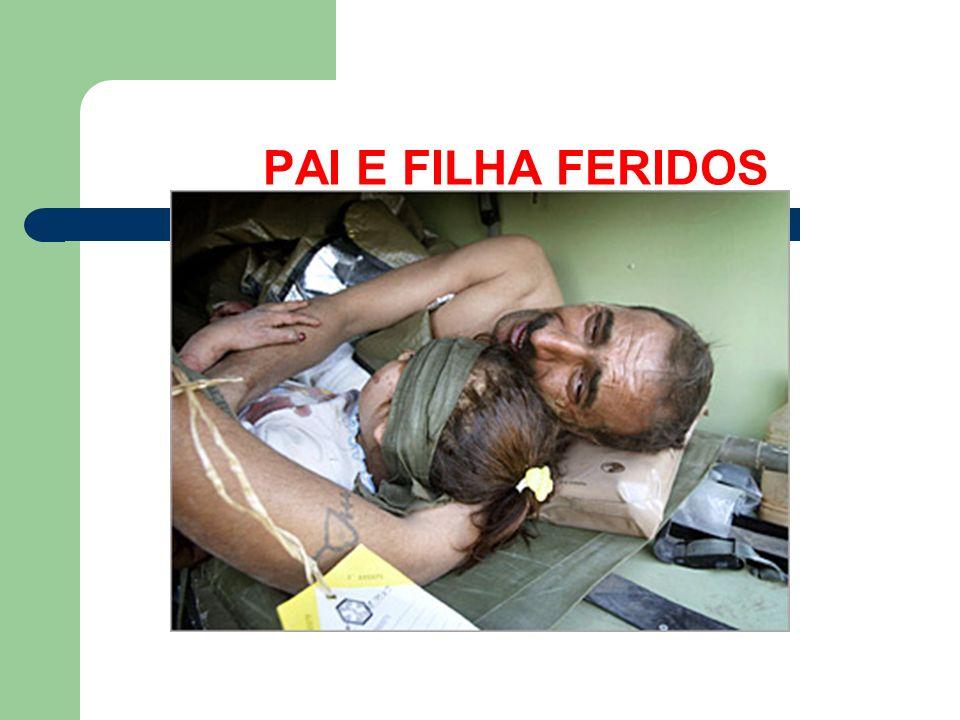 PAI E FILHA FERIDOS