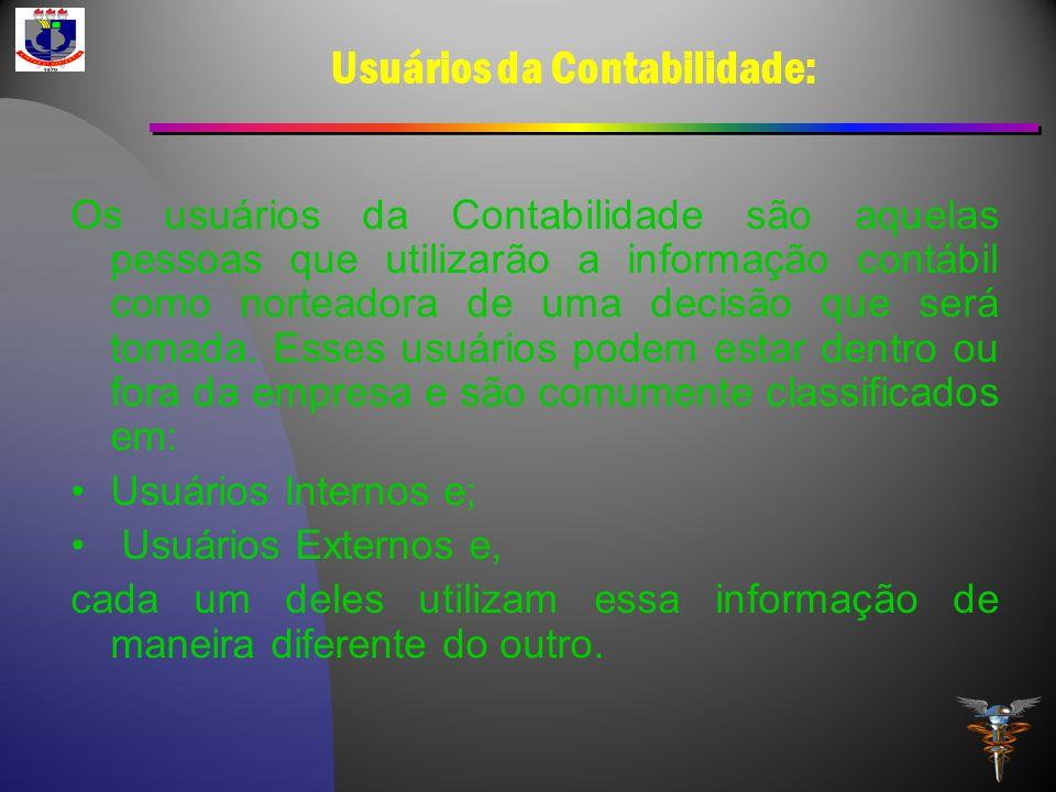 Usuários da Contabilidade: