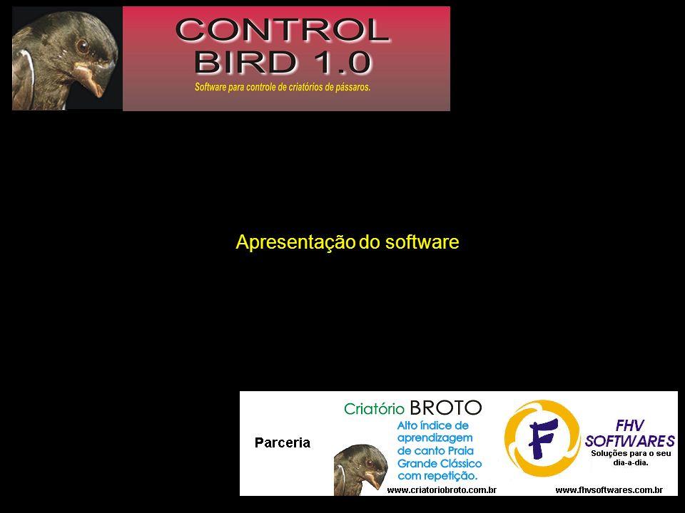 Apresentação do software