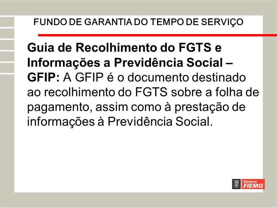 FUNDO DE GARANTIA DO TEMPO DE SERVIÇO