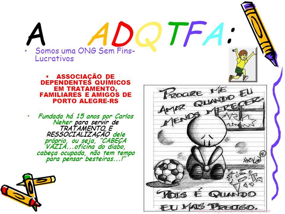 A ADQTFA: Somos uma ONG Sem Fins-Lucrativos