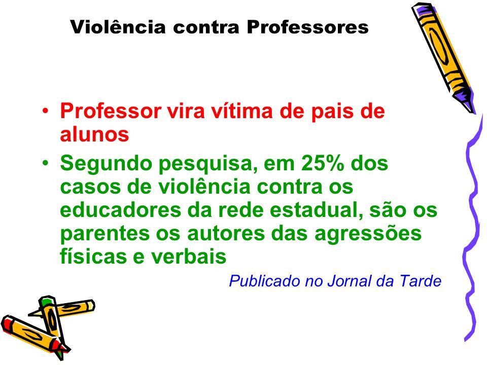 Violência contra Professores