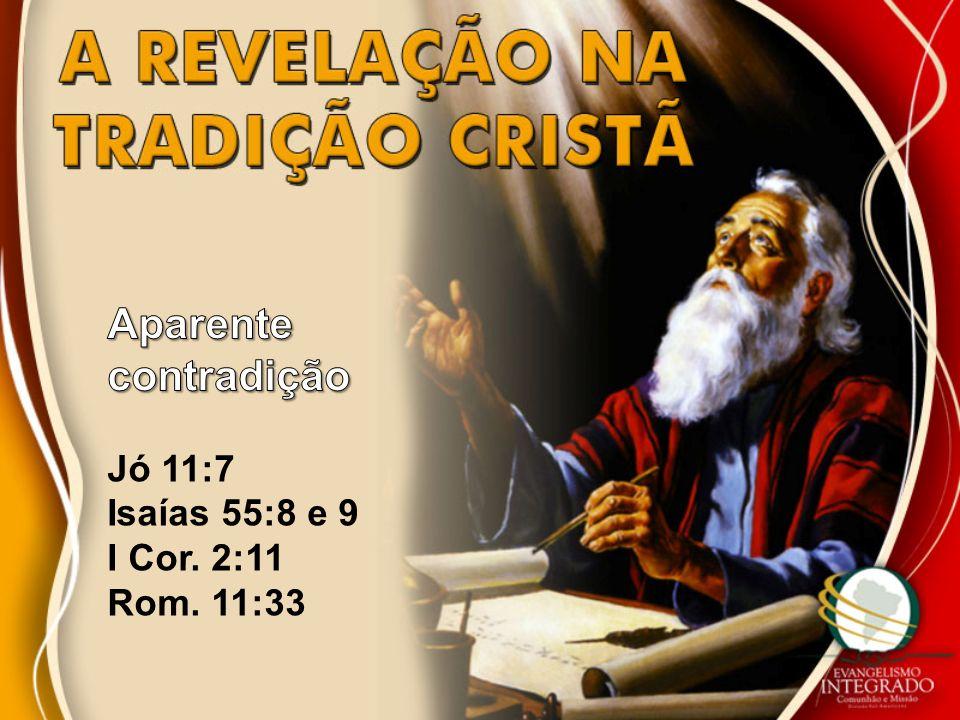 Aparente contradição Jó 11:7 Isaías 55:8 e 9 I Cor. 2:11 Rom. 11:33