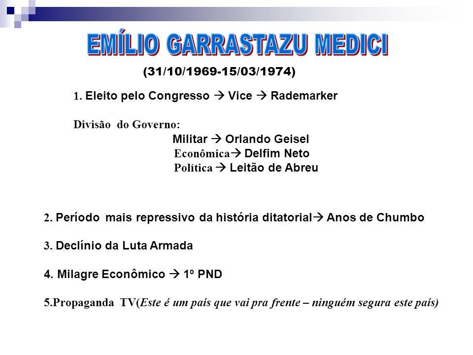 EMÍLIO GARRASTAZU MEDICI