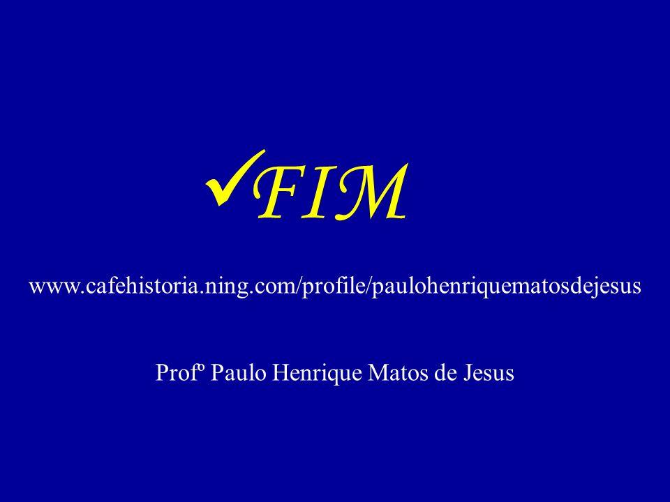Profº Paulo Henrique Matos de Jesus