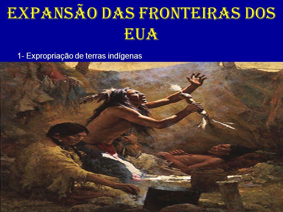 EXPANSÃO DAS FRONTEIRAS DOS EUA