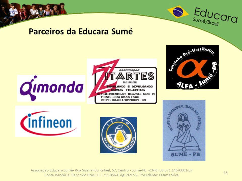 Parceiros da Educara Sumé